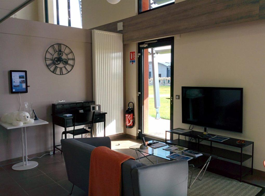 Portes ouvertes de la Maison domotique d'application pédagogique Saint-Paterne