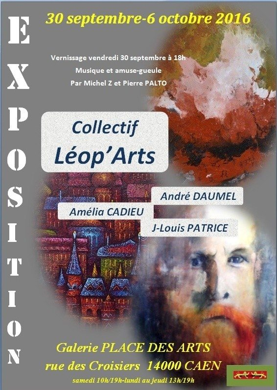 Première exposition du collectif Leop'arts Caen