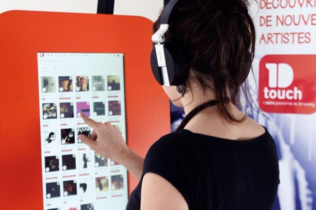 Présentation de la plateforme de musique 1D Touch Le Rheu