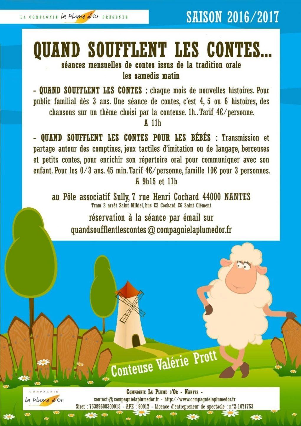 Quand soufflent les contes : Ogres et poucets Nantes