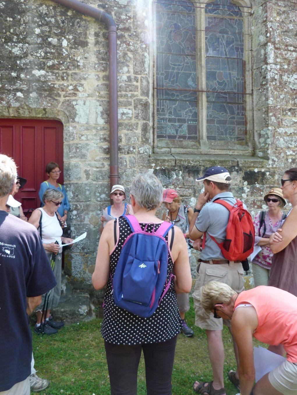 Randonnée pédestre patrimoine Saint-Nolff
