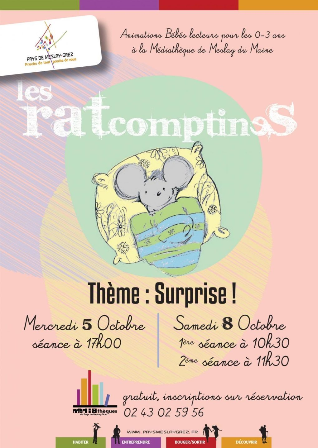 Ratcomptines : Surprise ! Meslay-du-Maine