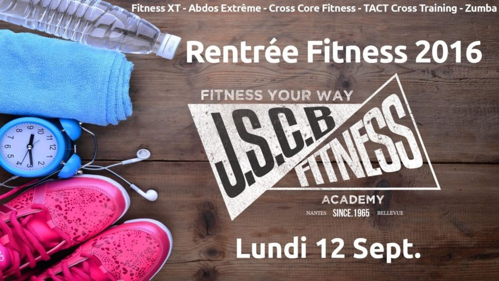 Rentrée fitness 2016 Nantes