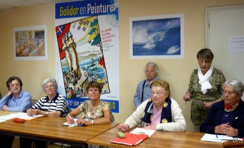 Reprise des ateliers mémoire, à l'Ampar Saint-Malo