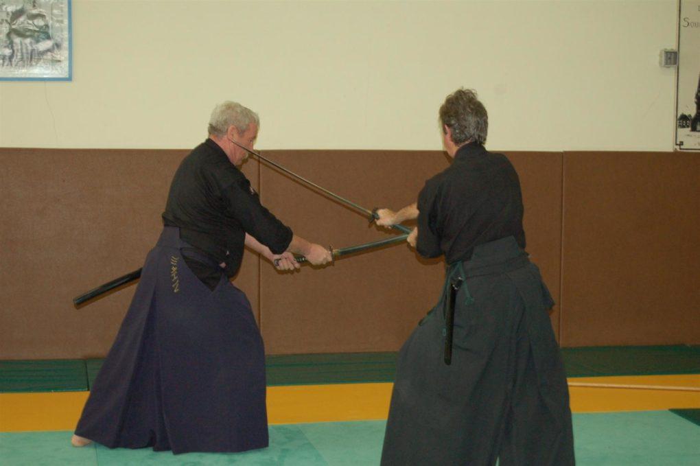 Reprise des cours d'aïki-jutsu Saint-Méloir-des-Ondes