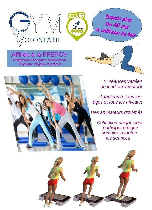 Reprise des cours de gymnastique Château-du-Loir