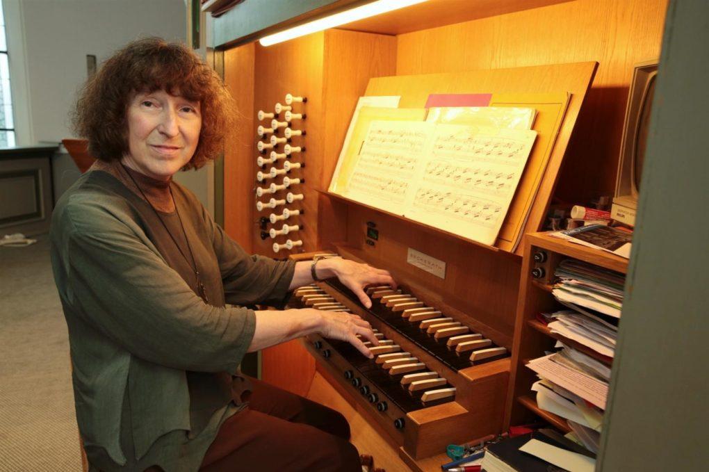 Ruth Forsbach Beckhaus organiste à Remscheid Quimper