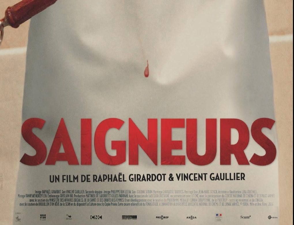 Salariés à l'abattoir avec S. Geffroy, V. Gaullier et R. Girardot Rennes