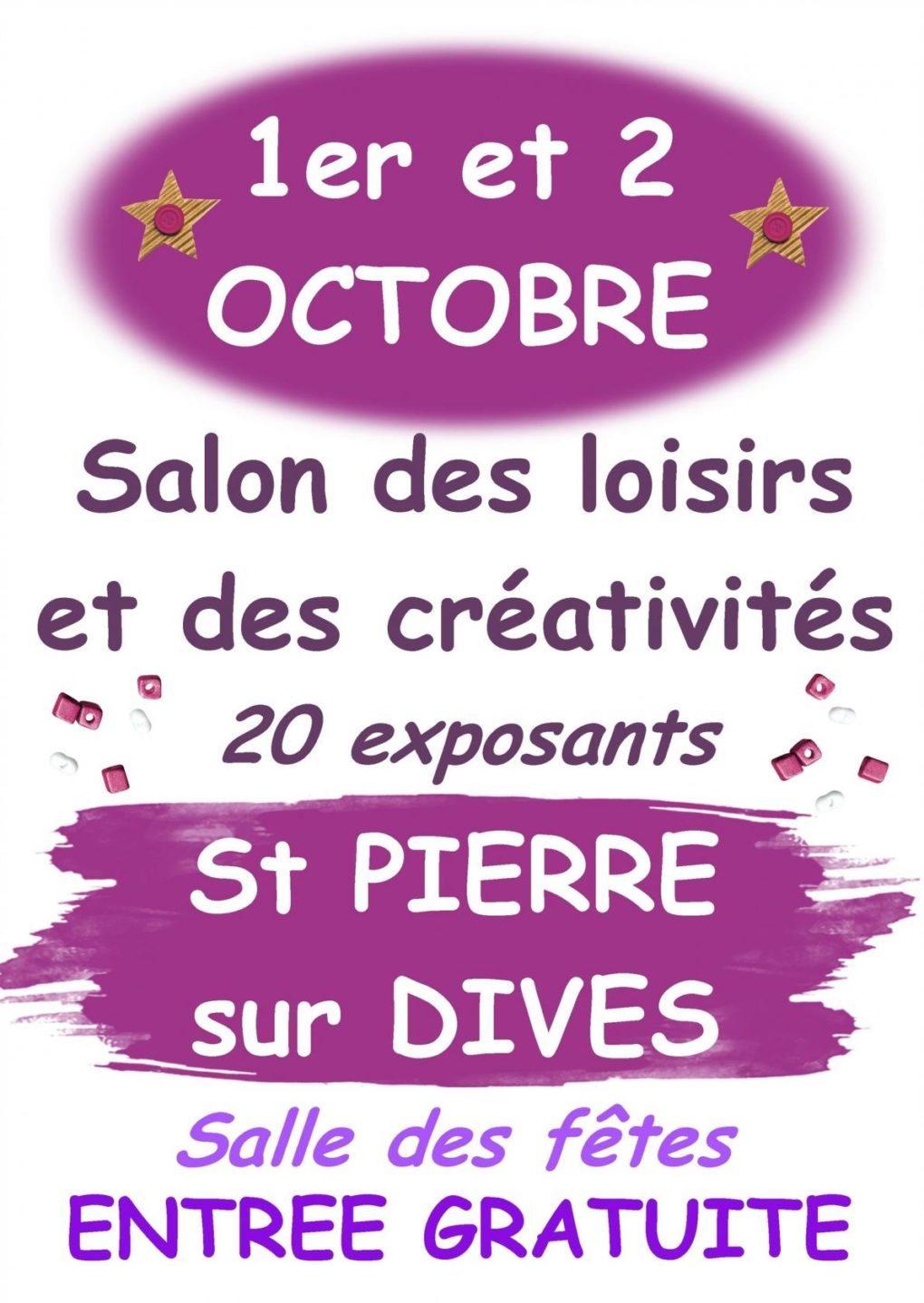Salon des loisirs et des créativités Saint-Pierre-sur-Dives