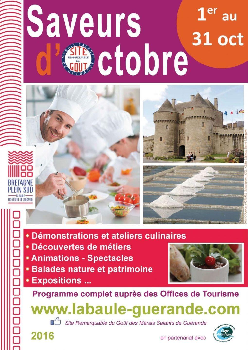Saveurs d'octobre : atelier La Route des épices La Turballe