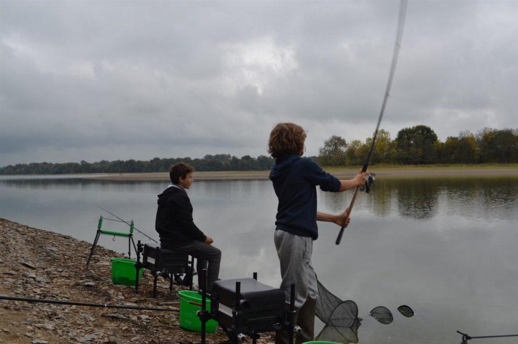 Séance découverte de la pêche au feeder Vertou