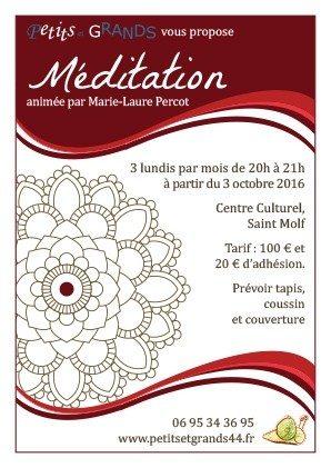 Séances de méditation Saint-Molf