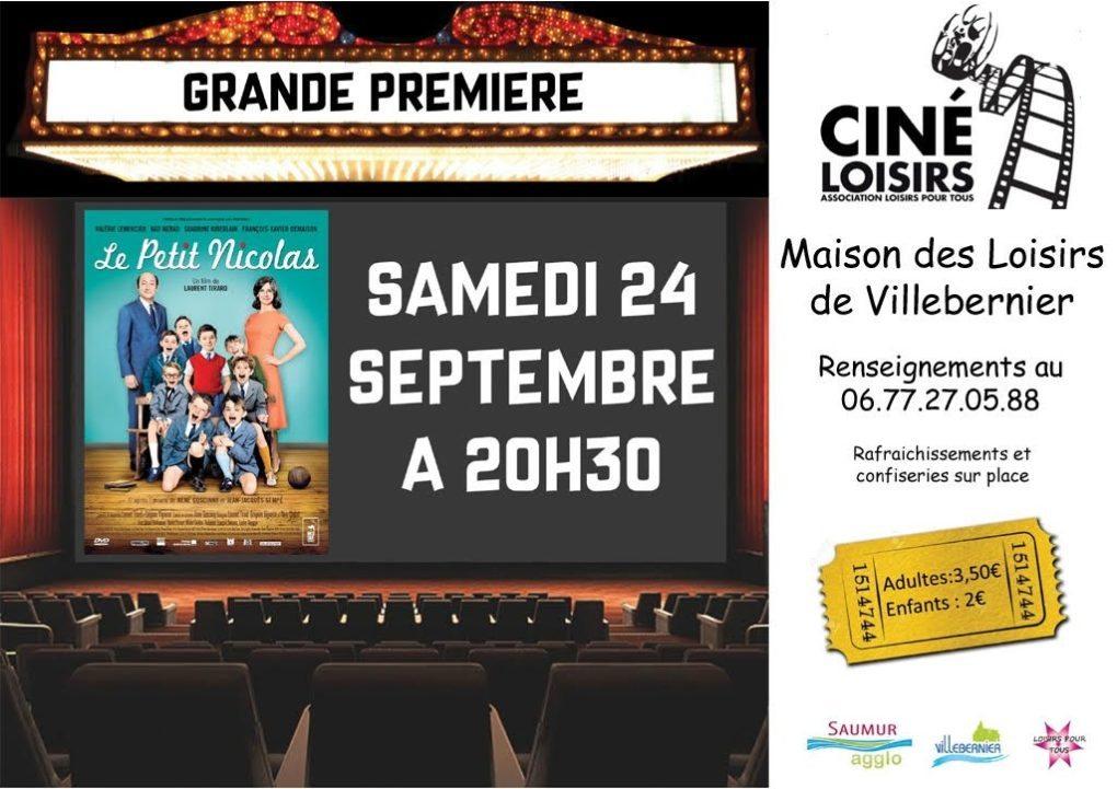 Soirée cinéma : projection du film le petit Nicolas Villebernier