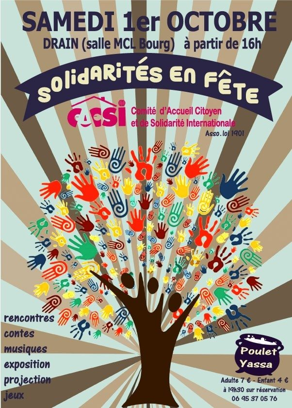 Solidarités en fête Orée-d'Anjou