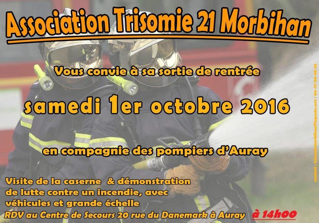 Sortie de rentrée de Trisomie 21 Morbihan Auray