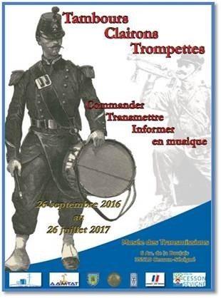 Tambours et trompettes, la transmission des ordres en musique Cesson-Sévigné