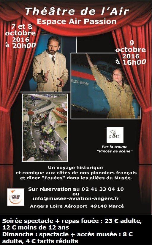 Théâtre au musée Marcé