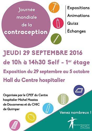 Tout savoir sur la contraception Douarnenez