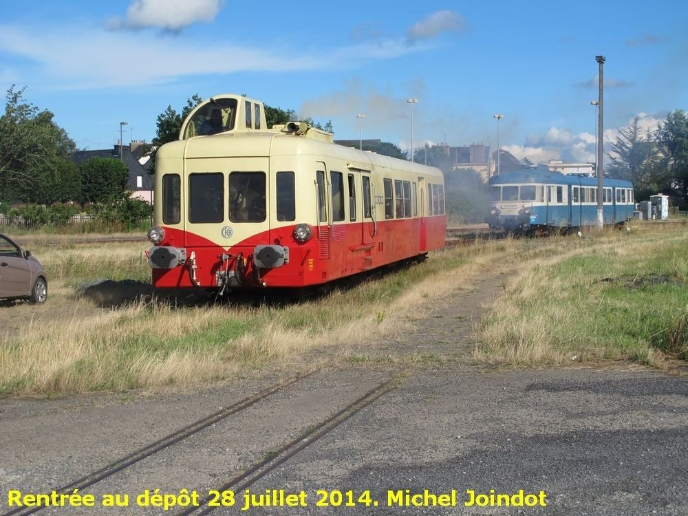 Trains d'autrefois Loudéac