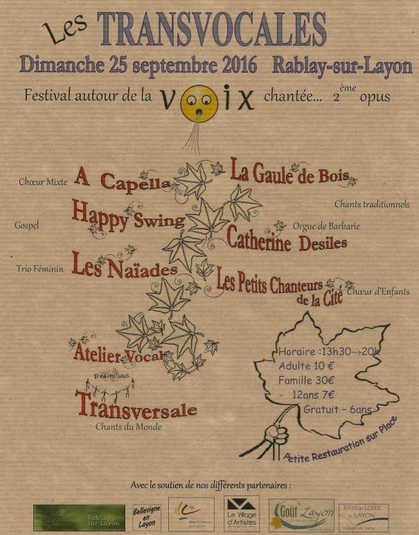 Transvocales Bellevigne-en-Layon
