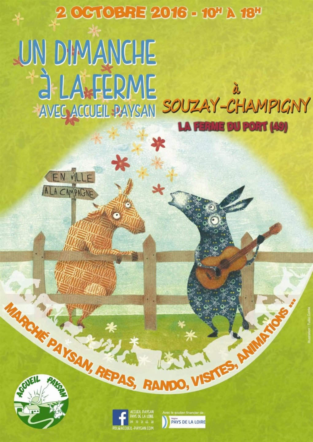 Un dimanche à la ferme Souzay-Champigny