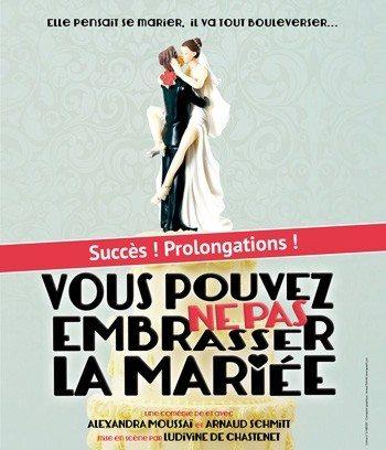 Vous pouvez ne pas embrasser la mariée Nantes