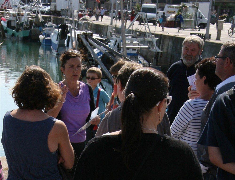 Week-end de la pêche à l'assiette : la coquille Saint-Jacques Saint-Vaast-la-Hougue