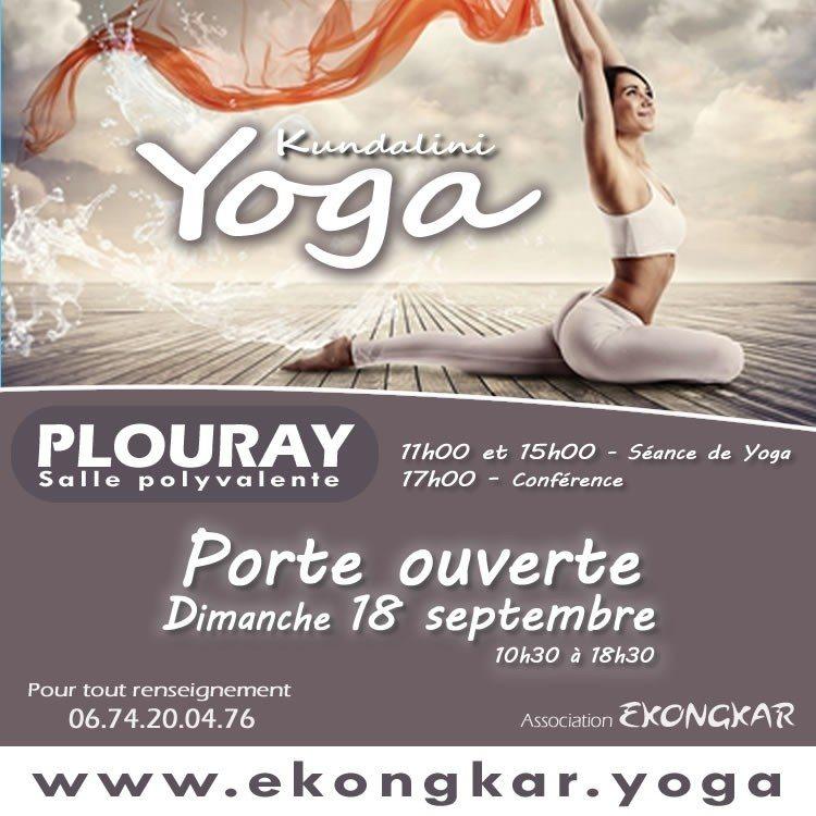 Yoga : conférence et portes ouvertes avec Ekongkar Plouray