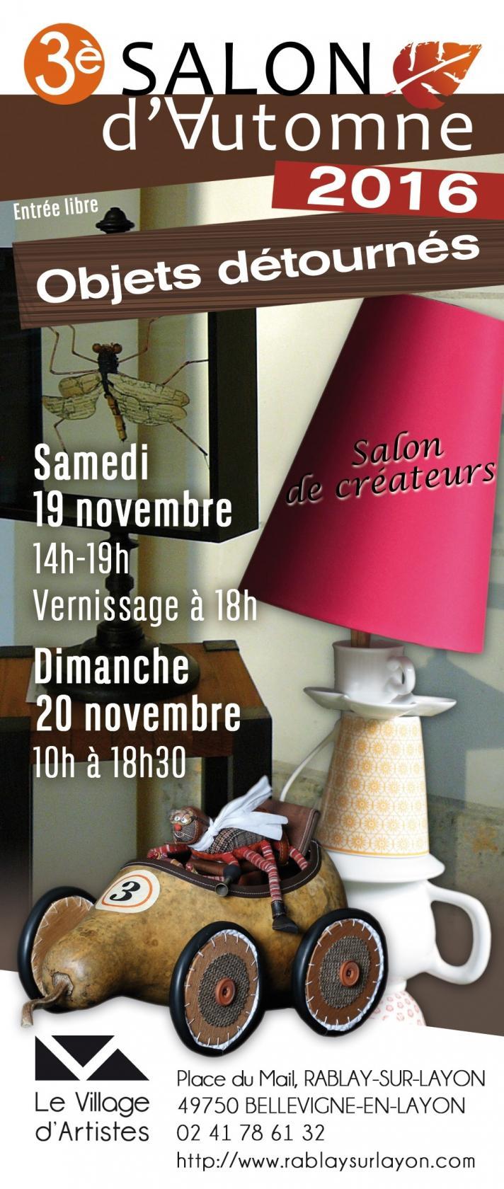 3e salon d'Automne - Les objets détournés Bellevigne-en-Layon