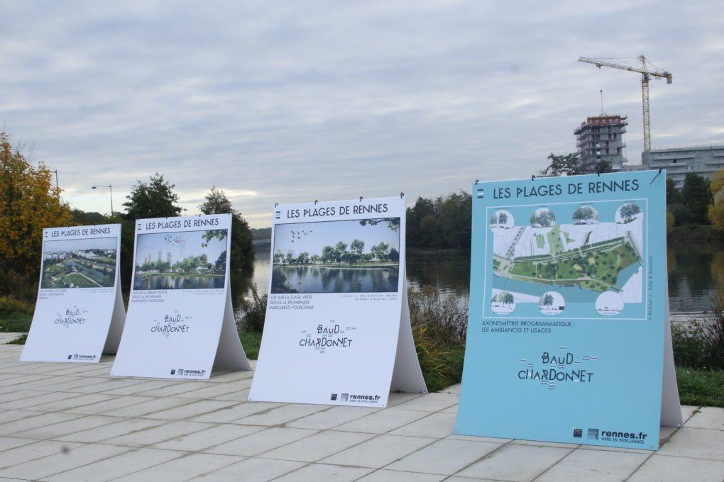 Rennes urbanisme les trois grandes zac au bord de la vilaine for Architecture rennes
