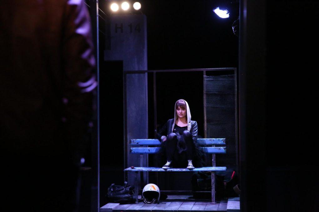 À la renverse : de Karin Serres, mise en scène P. Daniel-Lacombe Cesson-Sévigné