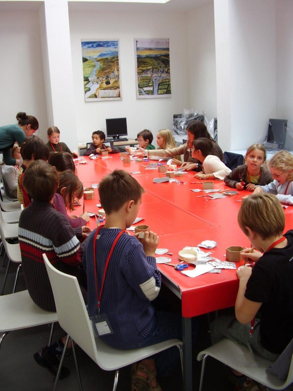 Ateliers individuels enfants, enluminure Rennes