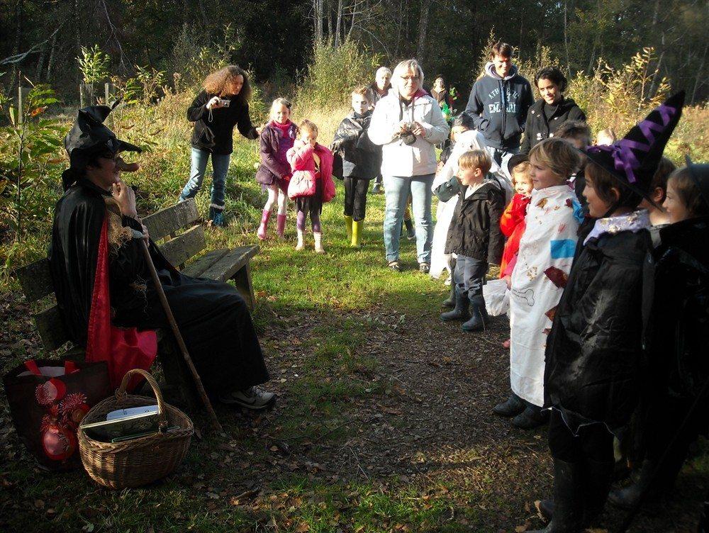 Balade contée dans la forêt domaniale - Spéciale Halloween Saint-Sauveur-le-Vicomte