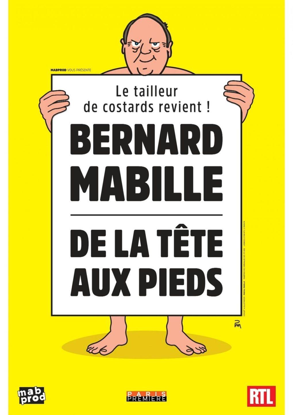 Bernard Mabille : De la tête aux pieds Plougonvelin