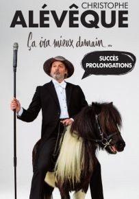 Christophe Alévêque présentera son spectacle Ça ira mieux demain Arnage