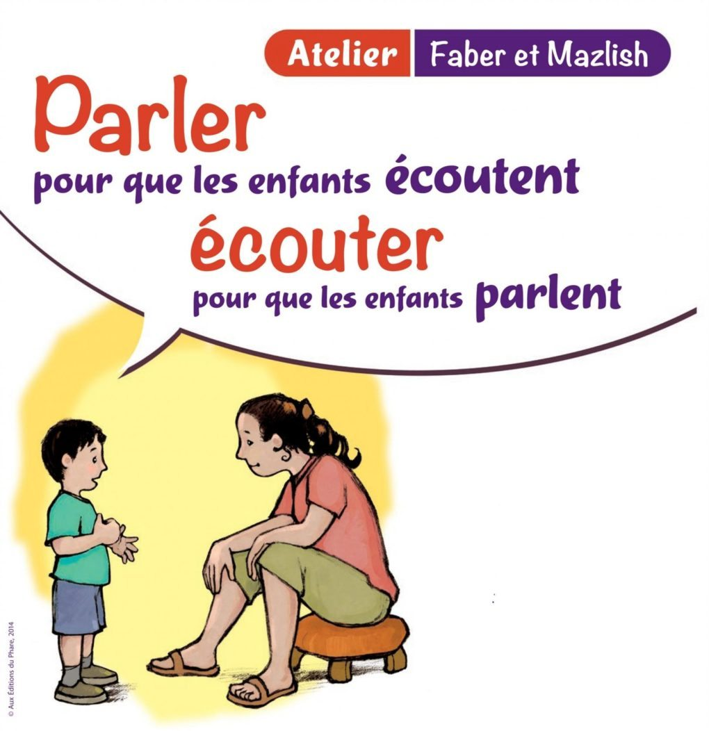 Communication parents-enfants, selon l'approche Faber et Mazlish Saint-Nazaire