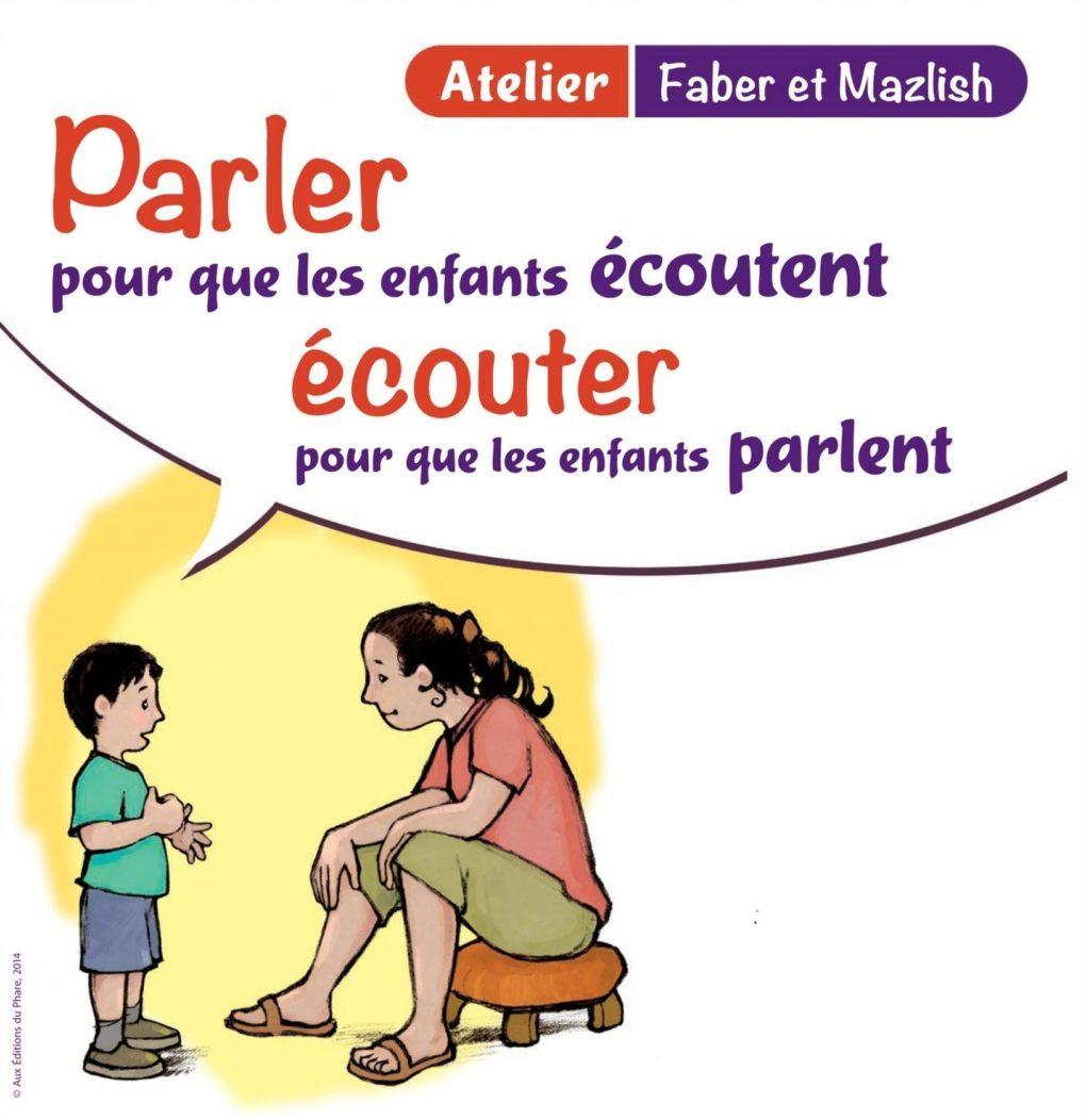Communication parents-enfants, selon l'approche Faber et Mazlish Saint-Nazaire