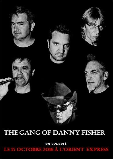 Concert blues rock country de Danny Fisher Caen