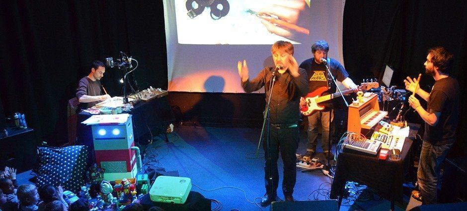 Concert dessiné jeune public Chansons Robot Saint-Malo