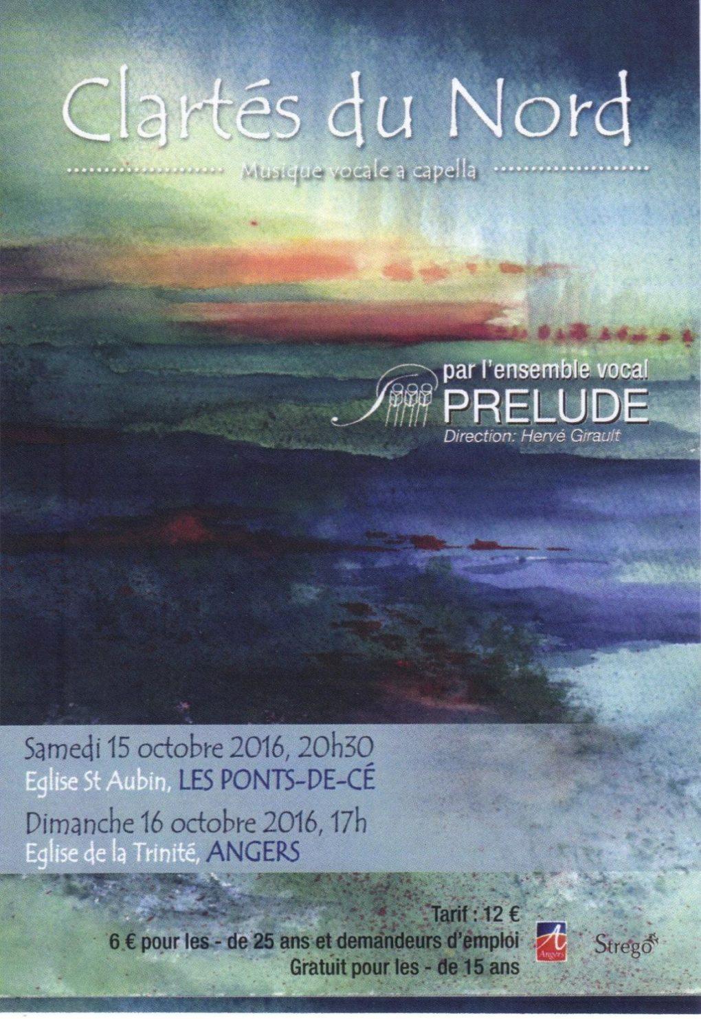 Ensemble Vocal Prélude Angers Les Ponts-de-Cé