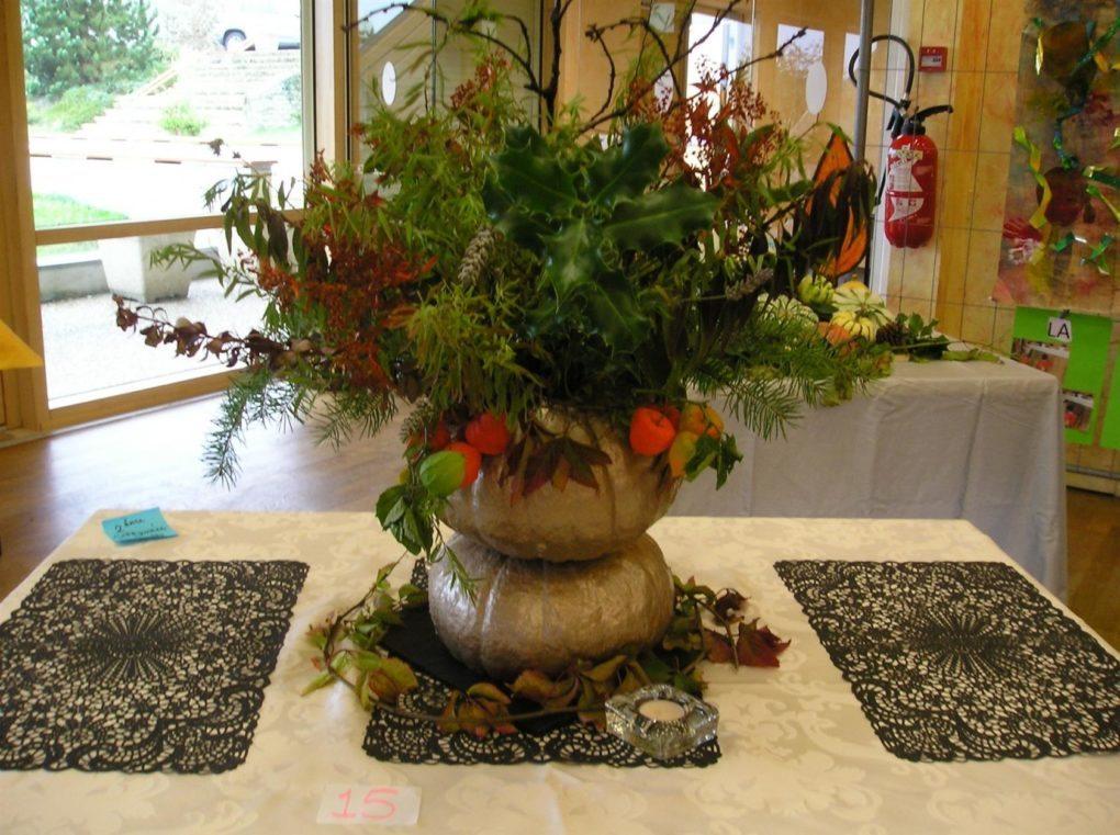 Exposition d'automne, concours de potager, English café corner Averton