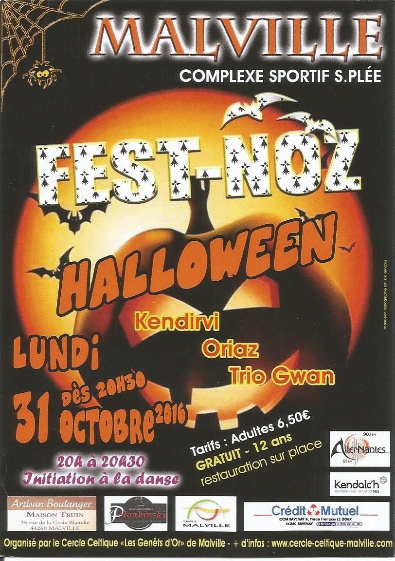 Fest-noz Halloween Malville