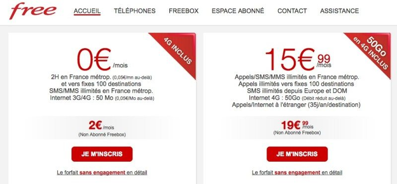 free offres-mobiles