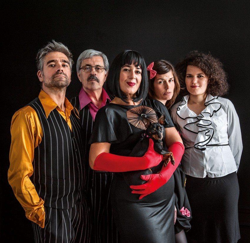 Grand Soufflet : Amapola quartet Y Maria Dolores Châteaugiron