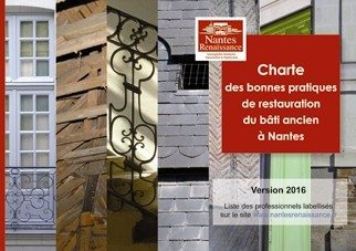 La charte des bonnes pratiques de restauration du bâti ancien Nantes