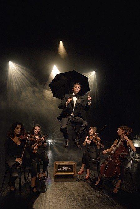 Le Siffleur et son Quatuor à cordes Auray