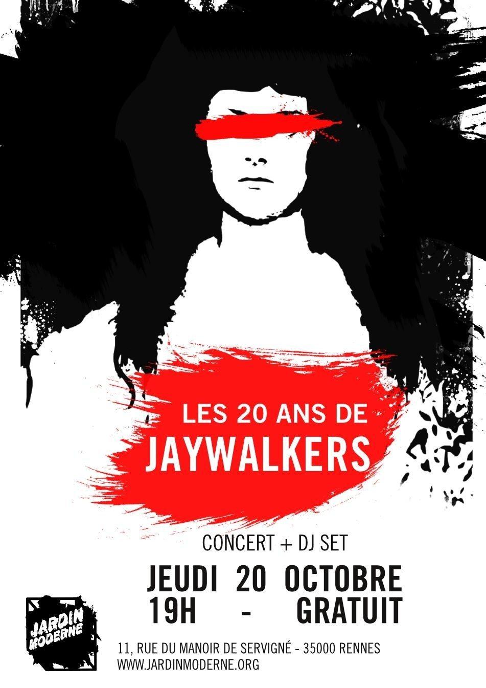Les 20 ans de Jaywalkers Rennes