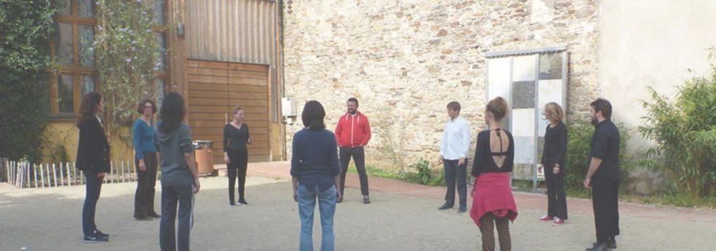 Master classe théâtre publique Jean-Yves Ruf Nantes
