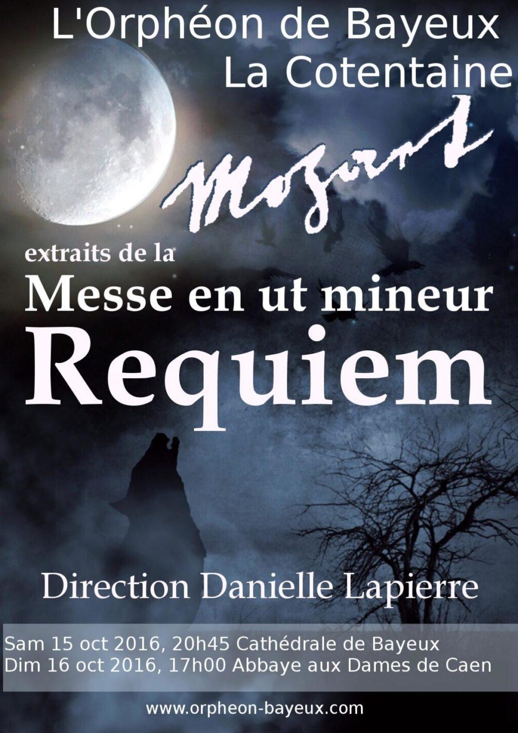 Requiem de Mozart Bayeux