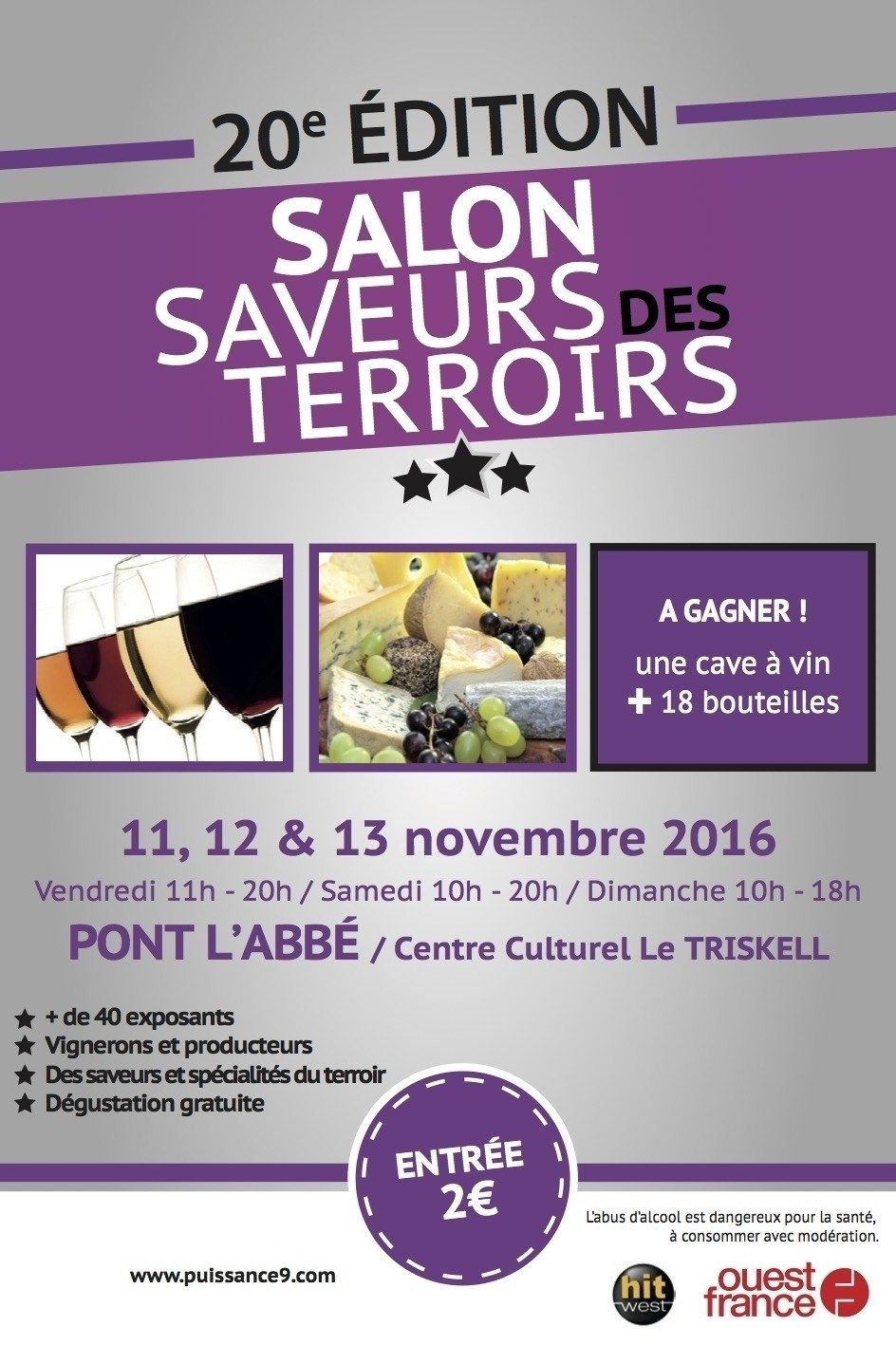Salon Saveurs des terroirs Pont-l'Abbé